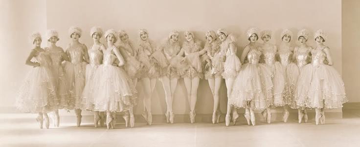 Ziegfeld Follies ballerinas