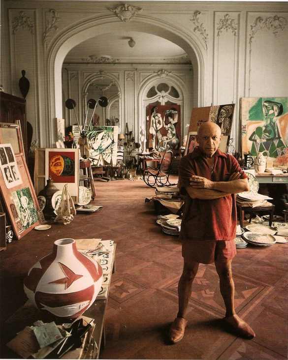 %22Painting isn't an aesthetic operation; it's a form of magic designed as mediator between this strange hostile world and us.%22 — Pablo Picasso