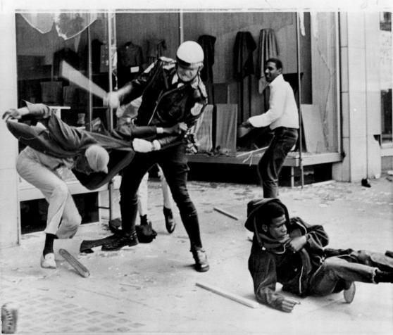 racial riot detroit: chicago:la 4