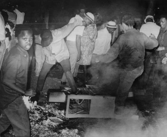 racial riot detroit: chicago:la 9