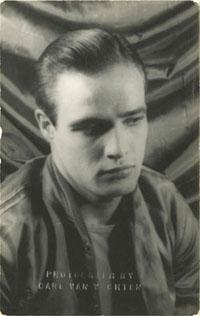 Marlon Brando 02; Front; 1949