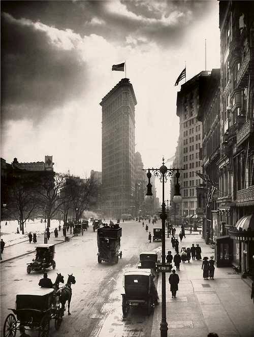 flat iron 1918 w w rock new york