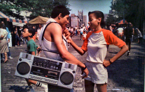 marta couper new york hip hop culture 70' 80's 5 ghetto blaster