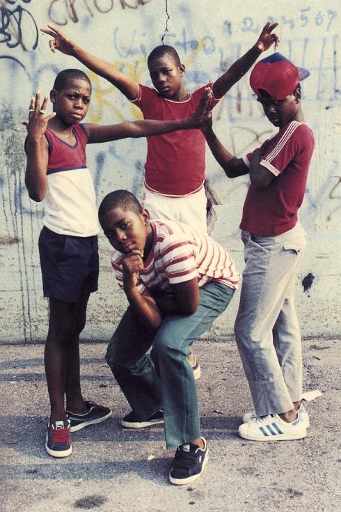 jamel shabazz kids on the block nyc new york 70