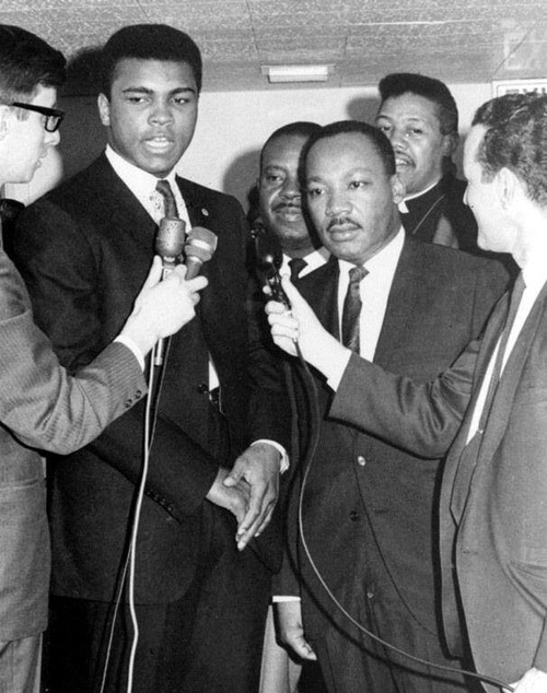 Muhammad Ali and Martin Luther King Jr., Chicago, 1966