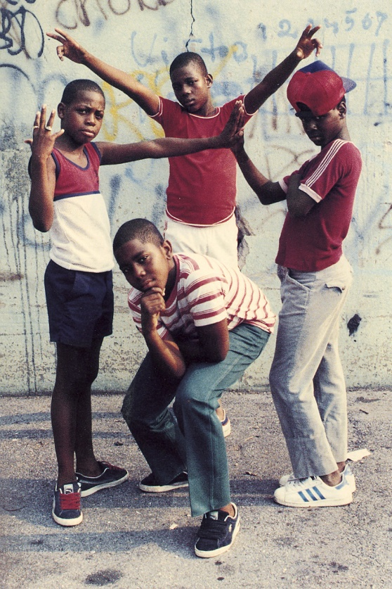 jamel shabazz kids on the block nyc new york 70