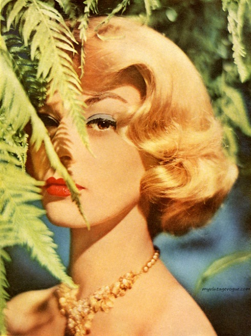 Jean Patchett for Du Barry Color Glo, 1957