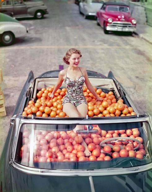 Oranges-vinatge var ad