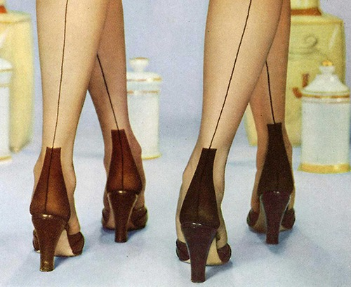 shoes tockings 1930'S