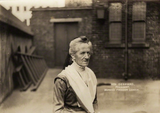 NPG x13391; Charlotte Despard (nÈe French) by Mrs Albert Broom